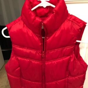 Red size small vest